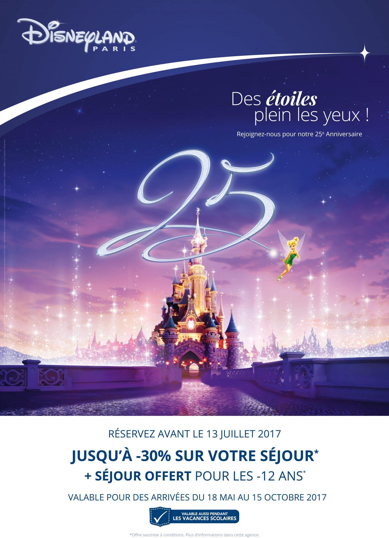 Disneyland 25ième anniversaire