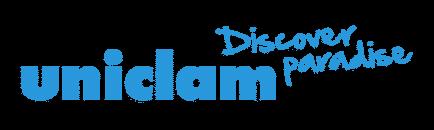 Uniclam Discover Paradise Logo