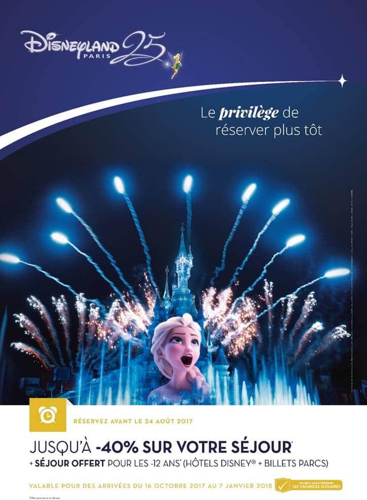 Action anniversaire Disneyland Paris